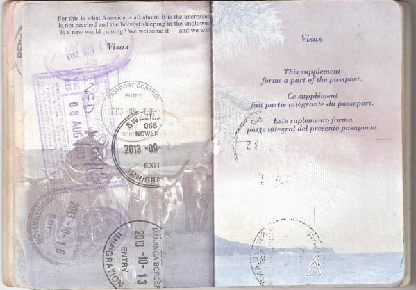 visa requirements travel