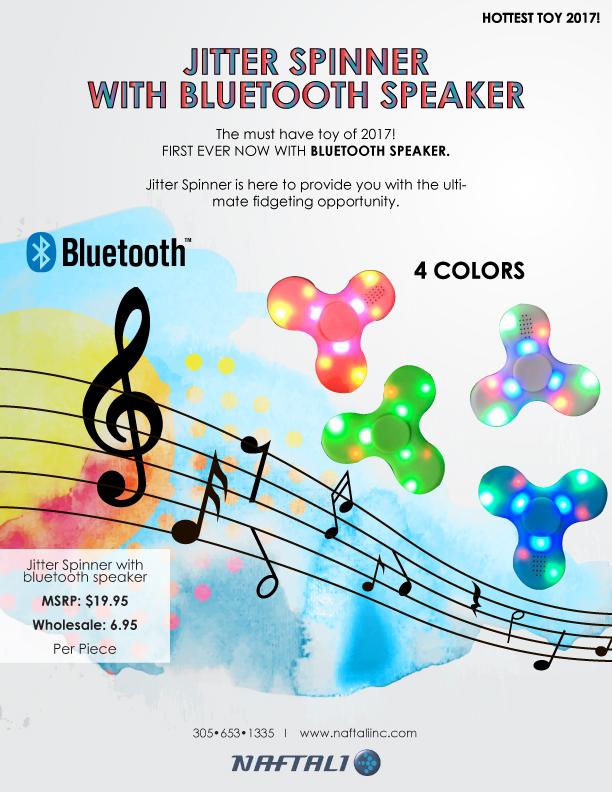 bluetooth speaker fidget spinner wholesale