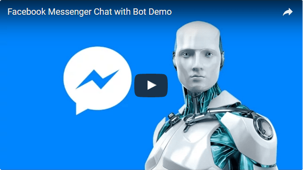 Facebook Messenger Chat with Bot 2