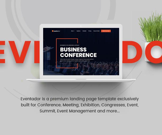 EventAdor Event Marketing WordPress Theme