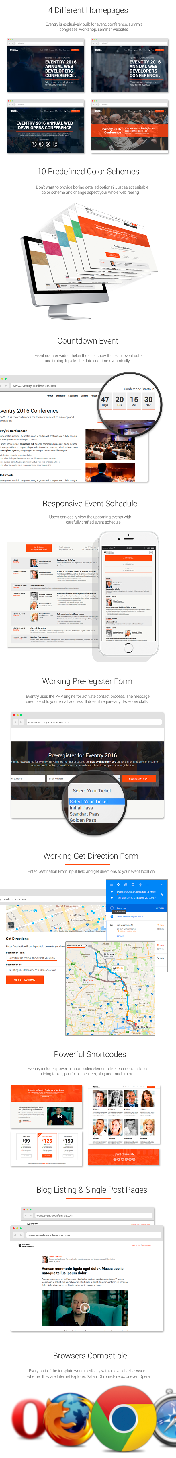Eventry WordPress Theme