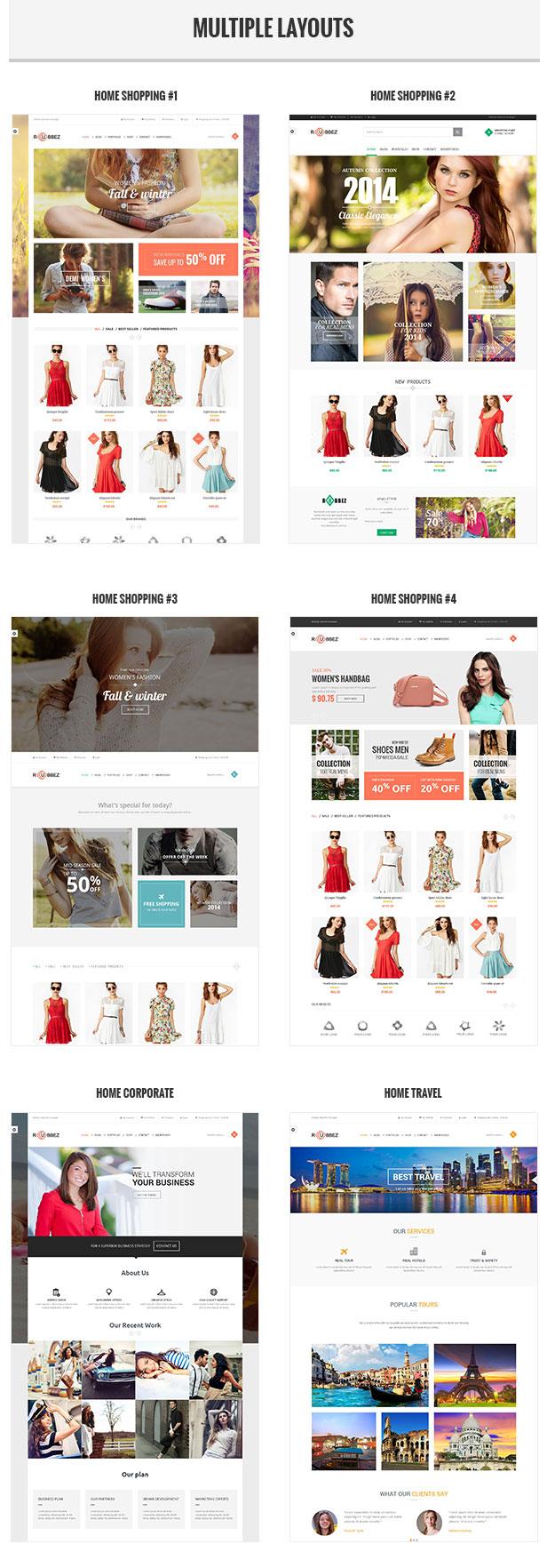 Rubbez- WooCommerce & Corporate WordPress Theme - 2