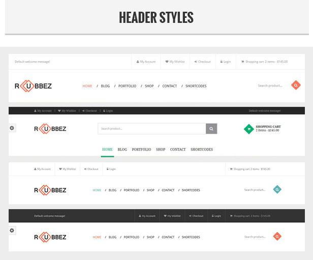 Rubbez- WooCommerce & Corporate WordPress Theme - 4