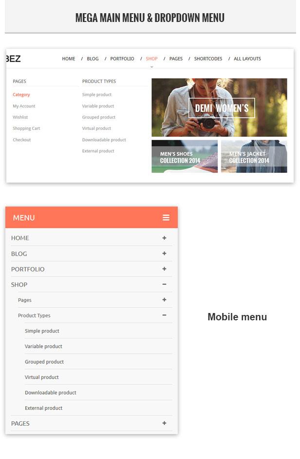 Rubbez- WooCommerce & Corporate WordPress Theme - 9