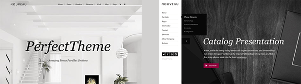 Nouveau - Multi-Purpose Retina WordPress Theme - 1