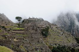 """Machu Picchu as the mist's rise at dawn"" by Rtype909 - Wikipedia"