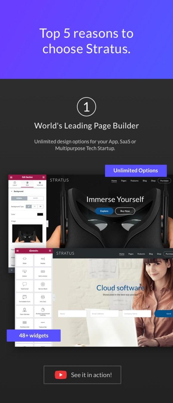 App, SaaS & Software Startup Tech Theme - Stratus - 3