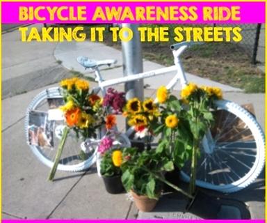 Bicycle Awareness Actions!  (Nov 23 & Dec 2)