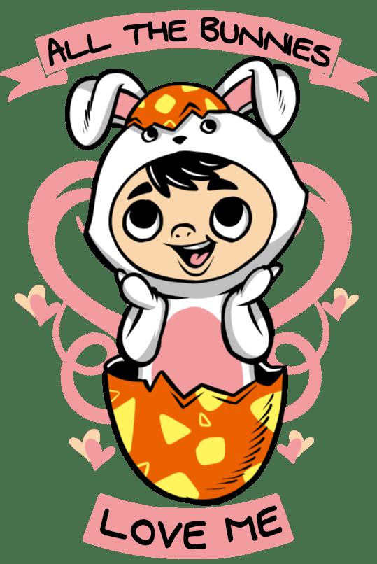 Download All the bunnies love me - uDesign Demo / T-shirt Design ...
