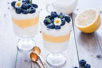 Lemon Blueberry dessert