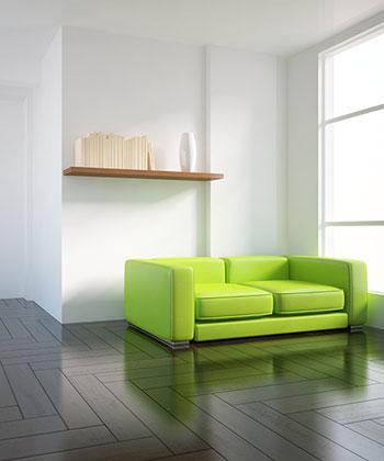 In your livingroom