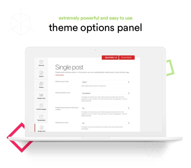 Avena Theme Options