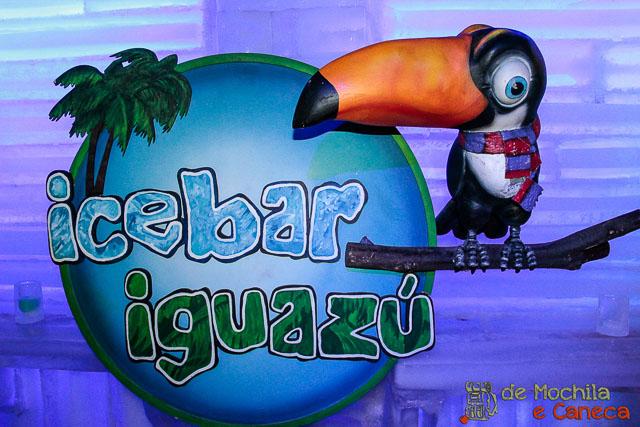 IceBar Iguazú - O Bar de gelo argentino.