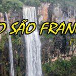 Salto São Francisco, a maior cachoeira do Sul do Brasil.
