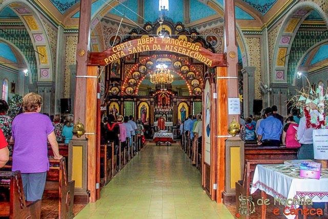 Interior da Igreja São Josafat.