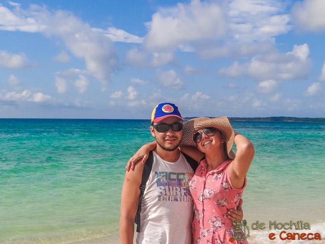 Islas rosario Playa Blanca, em Isla Baru