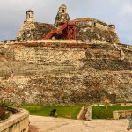 Castillo San Felipe de Barajas, o protetor de Cartagena de Indias