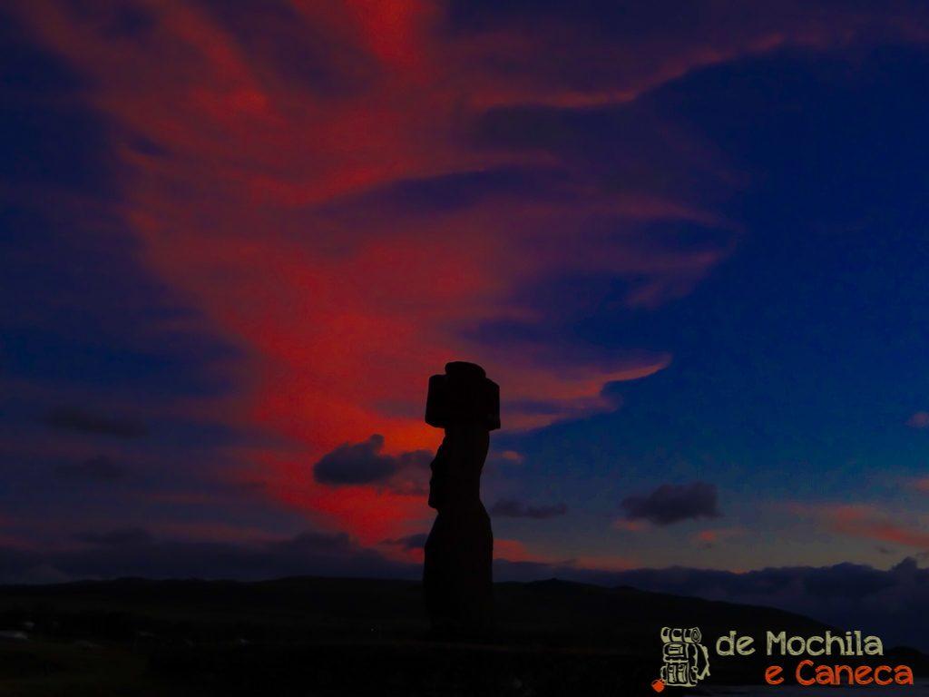 Por do Sol mais bonito da ilha de pascoa-3