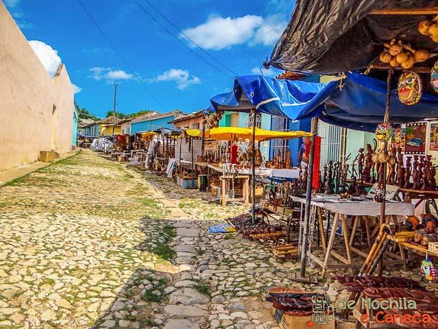 Trinidad_Cuba-Feira de Artesanato de Trinidad.