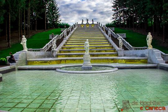 Fonte Montanha Dourada Peterhof