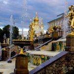 Peterhof, o impressionante palácio de verão de Pedro, o Grande.