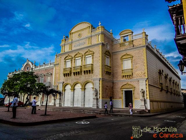Teatro Heredia Cartagena de Indias Colombia