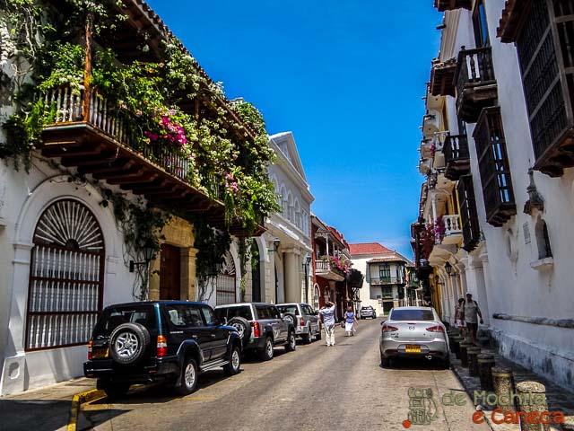 Ruas de Cartagena de Indias Colombia