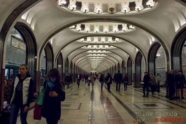 Metrô de Moscou-40