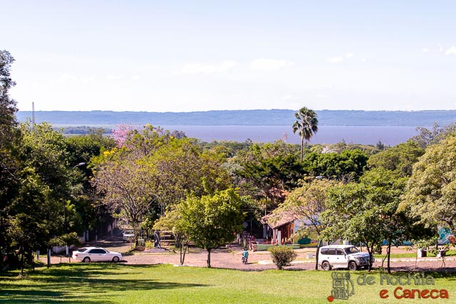 aregua-paraguai - vista panorâmica