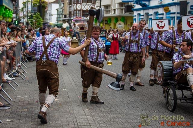 Oktoberfest de Blumenau - Desfile