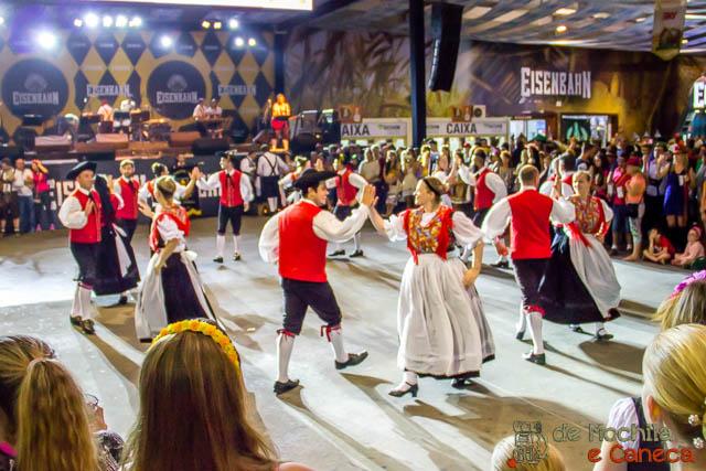 Oktoberfest de Blumenau - Dança alemã