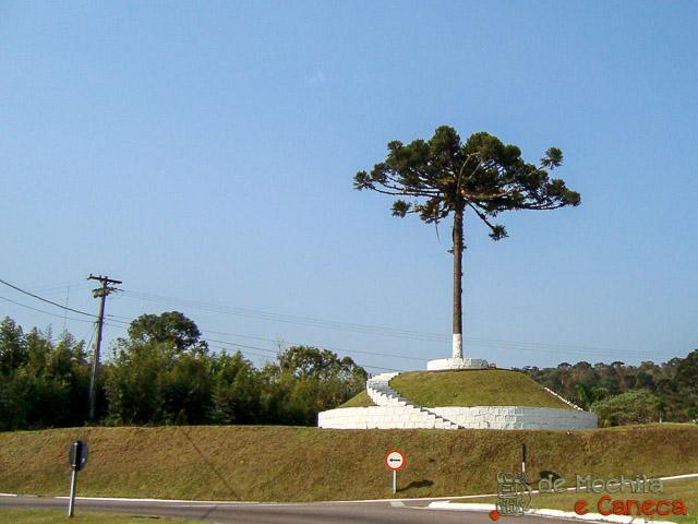 Estrada da Graciosa - Pinheiro - Portal de Entrada