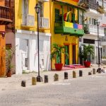 Getsemaní, o bairro preferido pelos mochileiros em Cartagena.