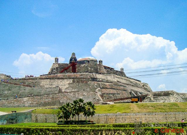 O que fazer em Cartagena - Castillo San Felipe de Barajas
