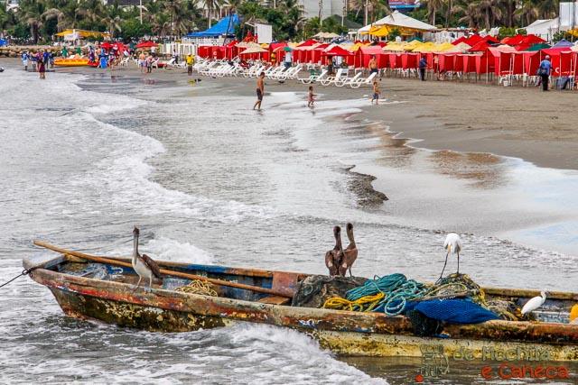 fazer fora da cidade murada de Cartagena - Boca Grande