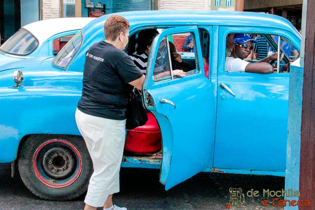 Como sair do Aeroporto de Havana - Las Maquinas
