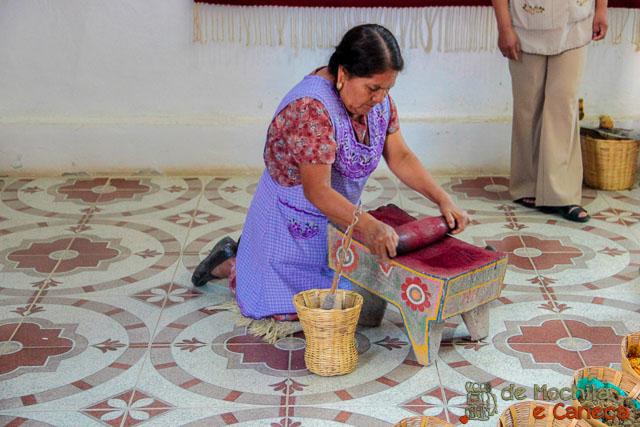 fábrica de tapetes em Teotitlán del Valle-10