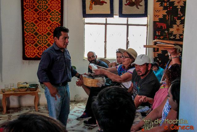 fábrica de tapetes em Teotitlán del Valle-5