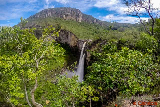 Parque Nacional da Chapada dos Veadeiros-Salto de 120 metros
