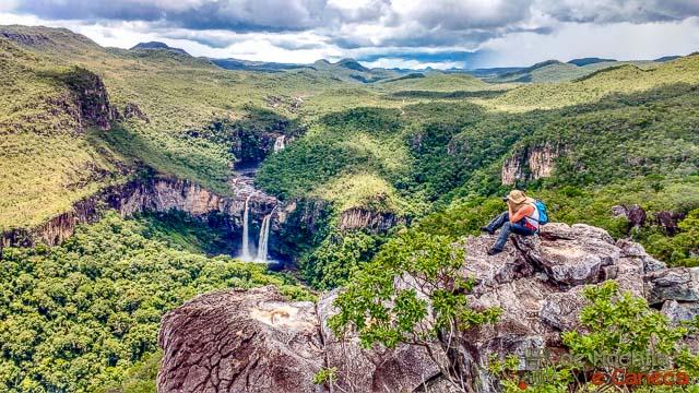 Trilha da Cachoeira do Abismo e Mirante da Janela