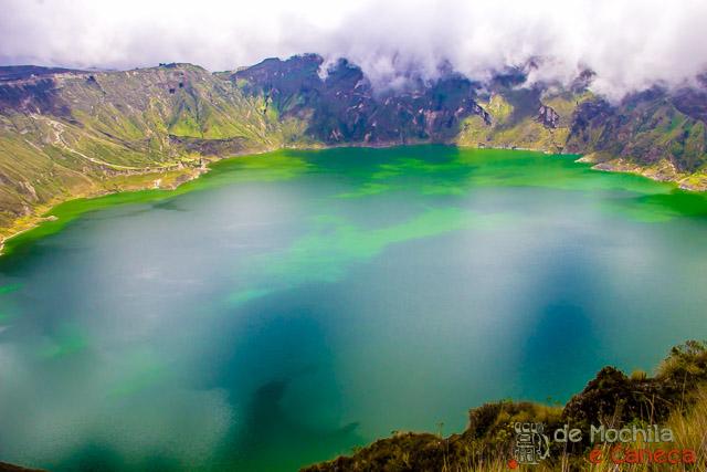 Equador - Roteiro- Lagoa Quilotoa