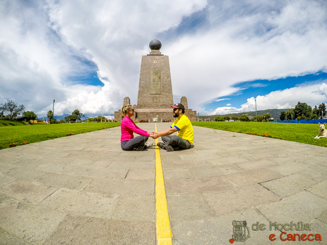 Quito a cidade da metade do mundo-Equador