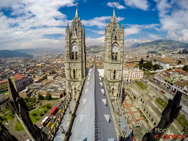 Quito a cidade da metade do mundo