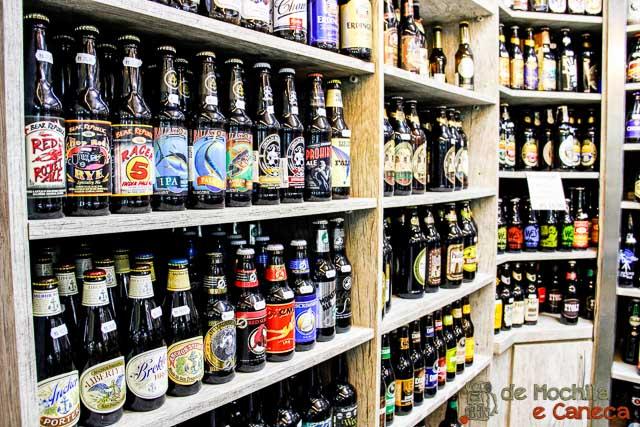 Curitiba em dia de chuva- Cervejas especiais - Mercado Municipal