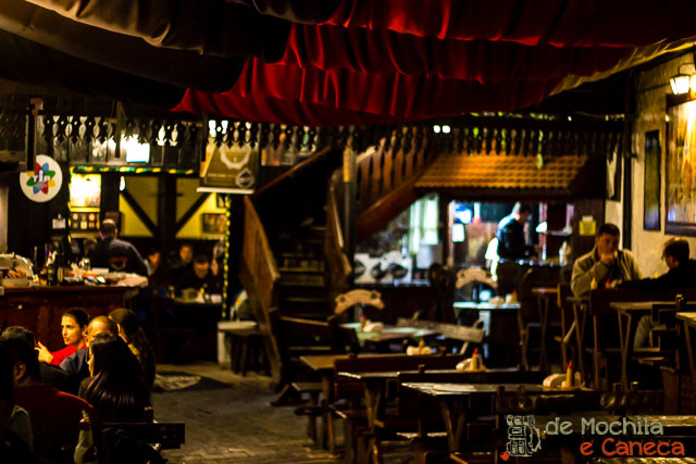 conhecer em Curitiba em dias de Chuva - Bar do Alemão