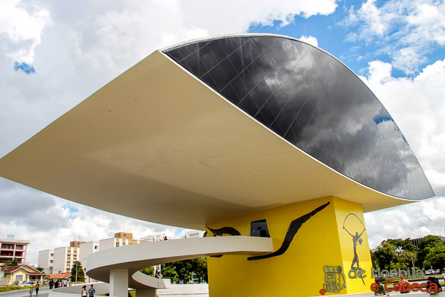 atrativos imperdíveis de Curitiba-Museu Oscar Niemeyer