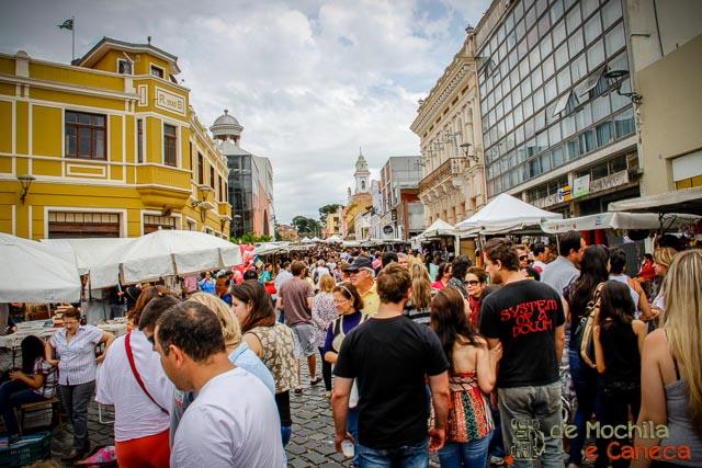 atrativos imperdíveis de Curitiba-Feira do largo da Ordem