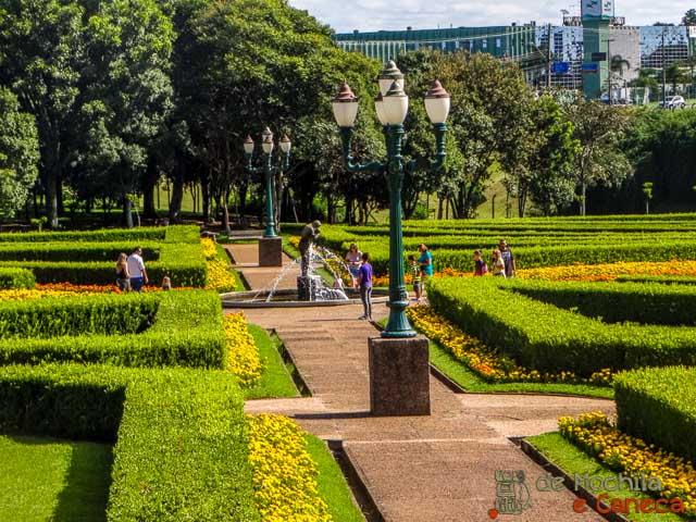 atrativos imperdíveis de Curitiba Jardim Frances - Jardim Botânico de Curitiba
