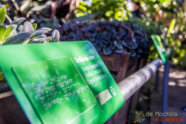O que fazer em Curitiba - Jardim Botânico de Curitiba-Jardim das Sensações