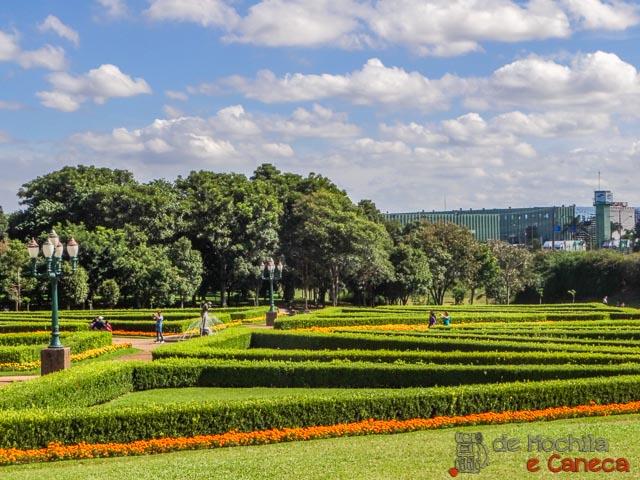 Jardim Botânico de Curitiba-Jardim